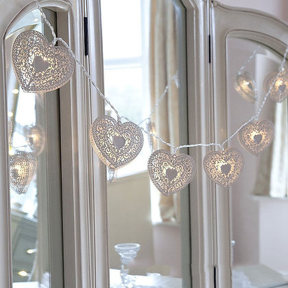 Guirlande lumineuse 20 Cœurs Romantic