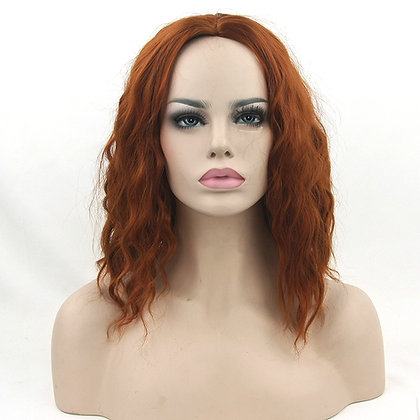 Perruque Rousse Wavy Red Hair Wig Revenge