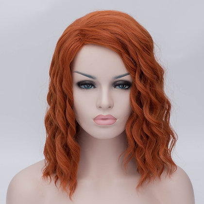Perruque Rousse Black Widow The Avengers Style Red Hair Wig