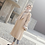 Long Trench Manteau Beige Nude Wool Long Jacket Eloïse