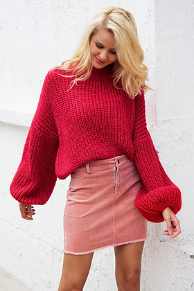 Pullover Boyfriend Manches Larges Cosy Oversized Jumper Knitted Danny