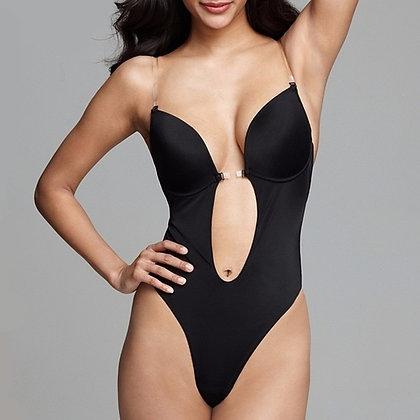 Body Lingerie Invisible pour Décolleté Plongeant et Dos nu Bodysuit