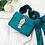 Sac à main Pochette Ruban Luxe Messenger satin handbag knot