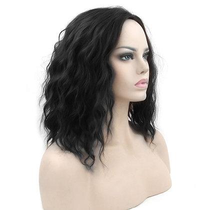 Perruque Brune Baby Ondulations Black Hair Wig Revenge