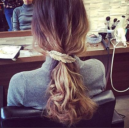 Barrette Pince à Cheveux Feuille Hairpin Hairgrips Hair Clip Leaf Blair