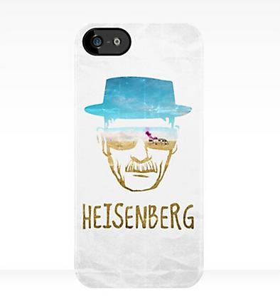 Coque Heisenberg Breaking Bad Iphone 5 CT05