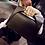 Sac à main Noir en Cuir clutch leather hanse