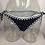Bikini Bicolore Crocheté South Beach white black crochet gypsy swimwear boho ethnic 2018