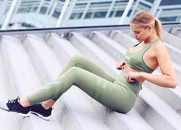 Leggings Taille Haute Running Fitness Elastic Pants Sissy