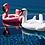 Bouée Géante Gonflable Cygne Blanc Flamengo Flotteur 150cm