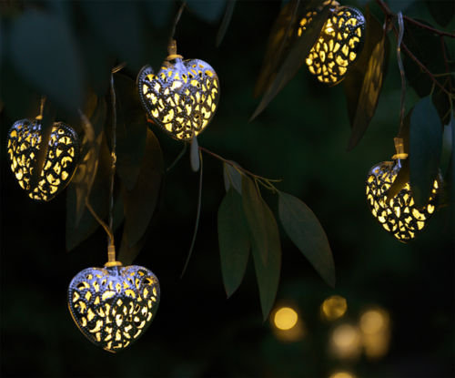 Guirlande lumineuse 10 Cœurs Maroccan
