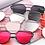 Lunettes de soleil Designer Cara Mirror Sunglasses