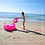 Bouée Géante Gonflable Flamant Rose de Luxe Flamengo 150cm