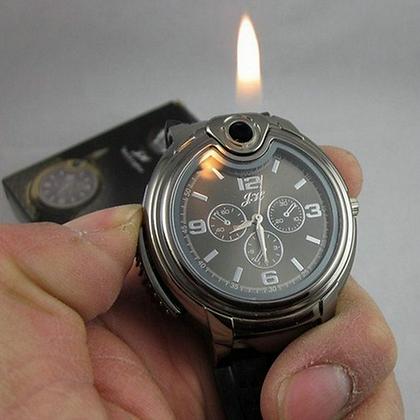 Montre homme Quartz briquet rechargeable GI02