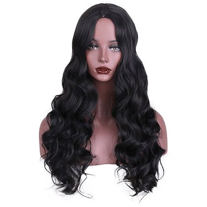 Perruque Brune Longue Ondulée 66cm Hair Wig Megan Fox Style