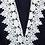 Combishort Décolletée Bleu Foncée en Dentelle Lace Dark Blue Playsuit Lea