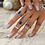 Set de 5 Bagues Gypsy Pierres Stones Boho Silver Rings