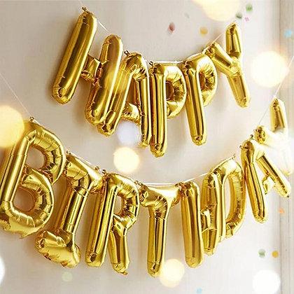 Ballons Anniversaire Happy Birthday Balloons Alphabet Letters Party Deco