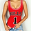 Body Rouge Beyonce Bulls 1 Basket ball red queen B Bodysuit