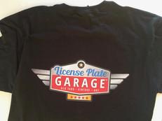 Men's License Plate Garage T-Shirt.jpg