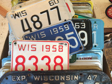 Wisconsin License Plate Collection