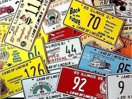Illinois Special Event License Plates — an Introduction to Collecting