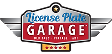 License Plate Garage Logo