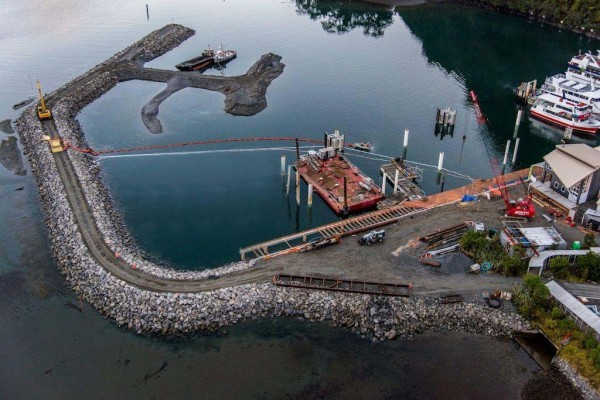 Milford Sound Breakwater Extension
