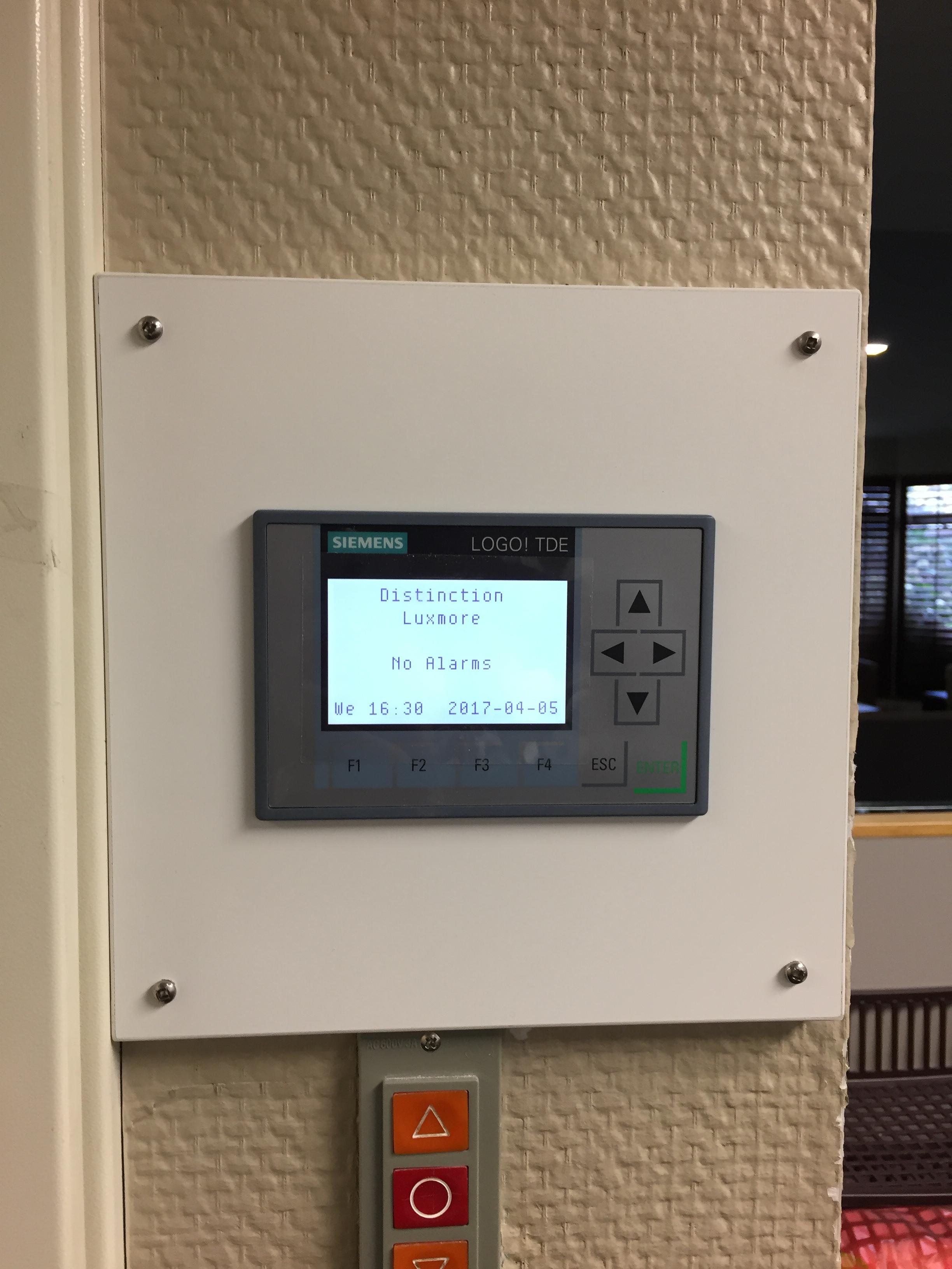 Siemens Alarm System