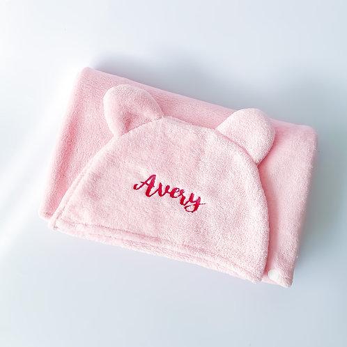 Hooded Wrap Microfiber Towel