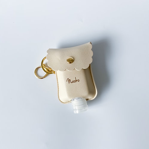 Personalised Sanitizer Pouch - Ivory