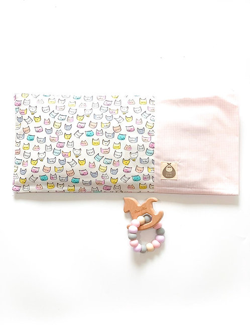 Beansprout Husk Pillow + Teether Gift Set