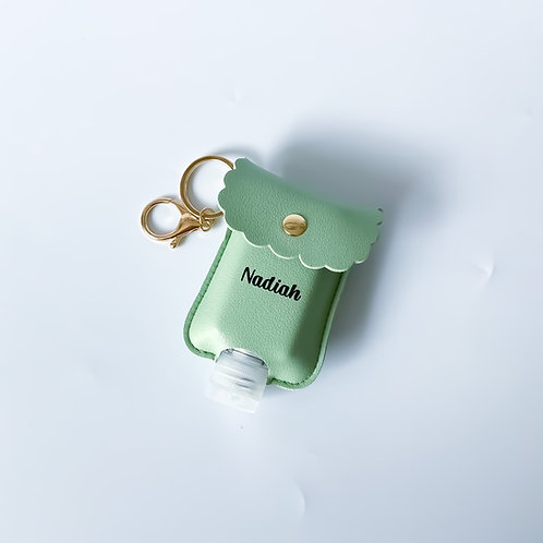 Personalised Sanitizer Pouch - Mint