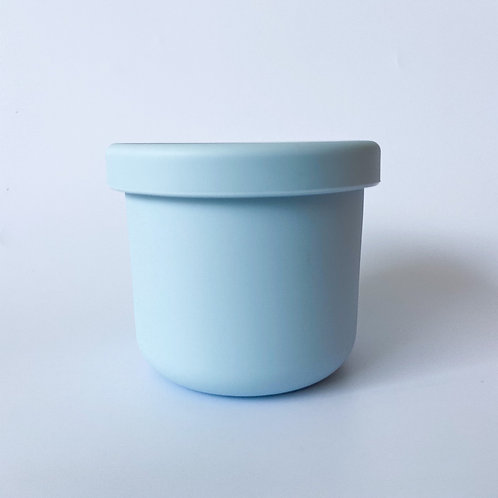 Silicone Container - Dusty Blue