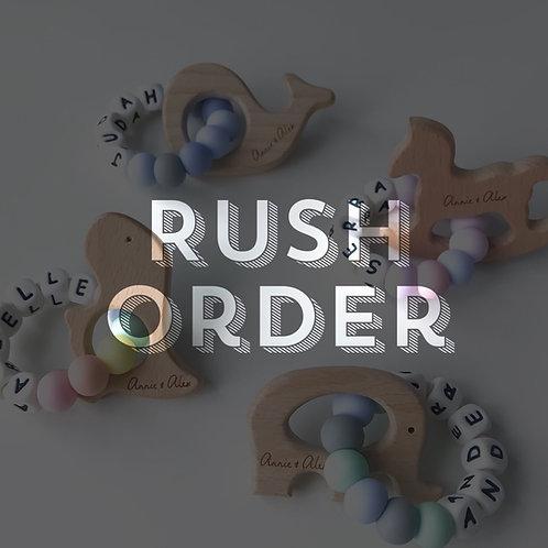 Add On: Rush Order