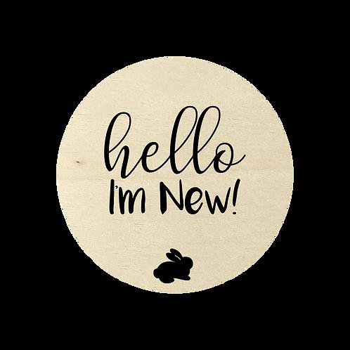 Hello I'm New!