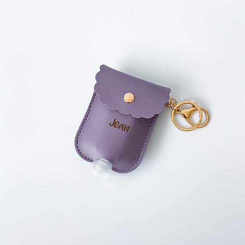 Personalised Sanitizer Pouch - Lilac