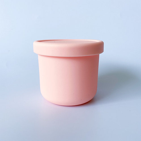 Silicone Container - Baby Pink