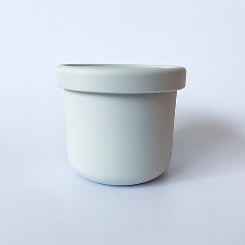 Silicone Container - Morning Grey
