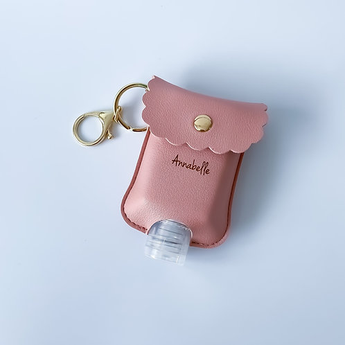Personalised Sanitizer Pouch - Sweet Pink