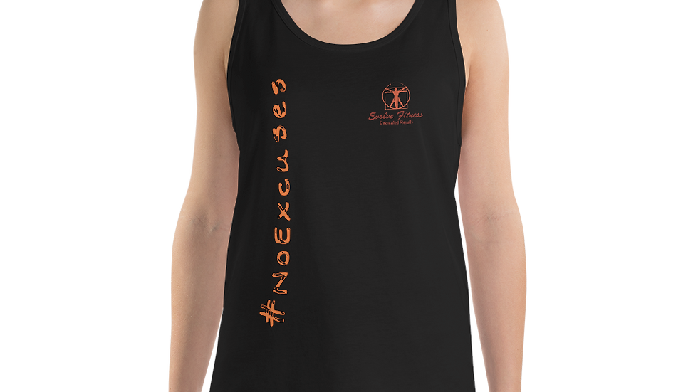 "Evolve Fitness ""No Excuses"" Unisex Tank Top"