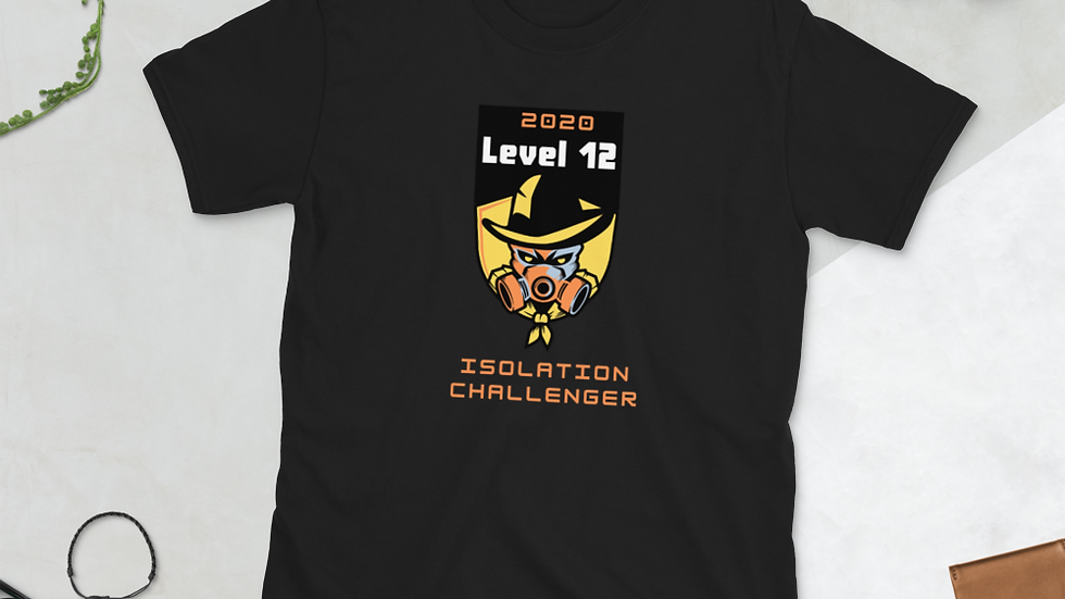 Level 12 Isolation Challenger Short-Sleeve Unisex T-Shirt Front Print Only