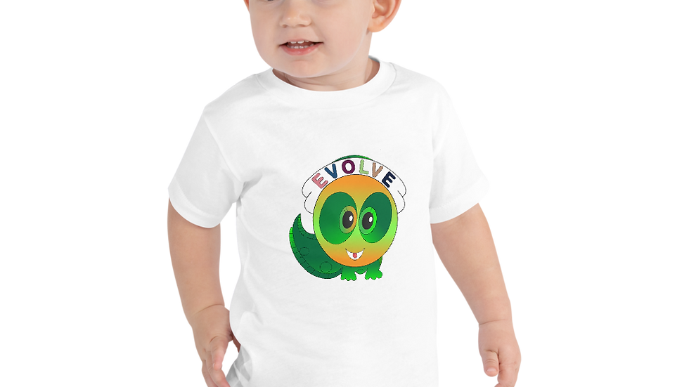 "Toddler  ""Evolve Tad"" Short Sleeve Tee"