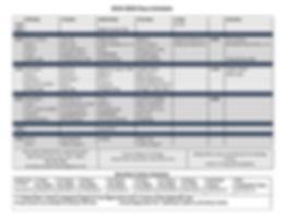 2019-2020 Class Schedule Final Jan 2020