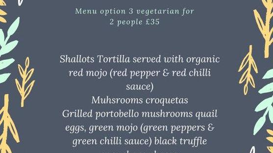 Vegetarian option
