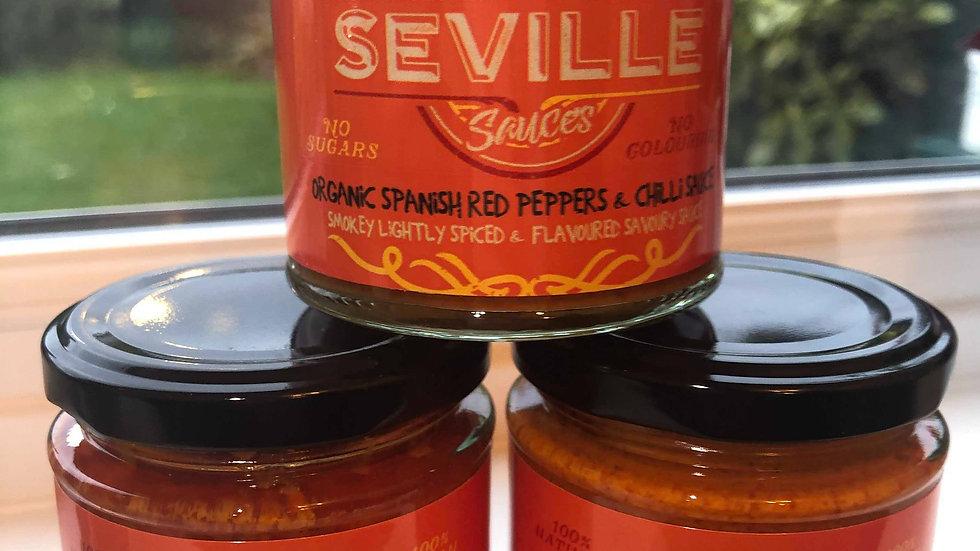Mojo Rojo (Spanish red peppers & Chilli sauce)