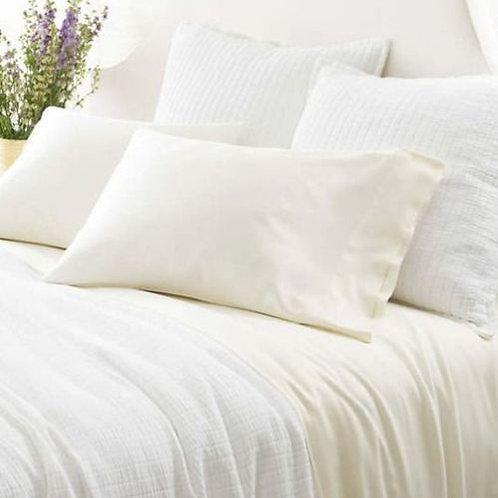 Silken Solid Sheet Set - Ivory