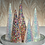 Thumbnail: Multicolored LED Sequin Trees - Set of 3