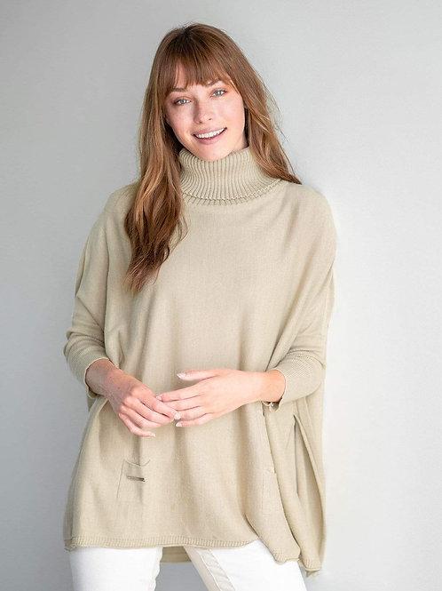 Portland Sweater -Sand/Taupe
