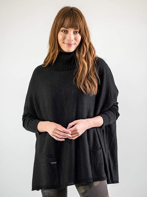 Portland Sweater - Ink/Black